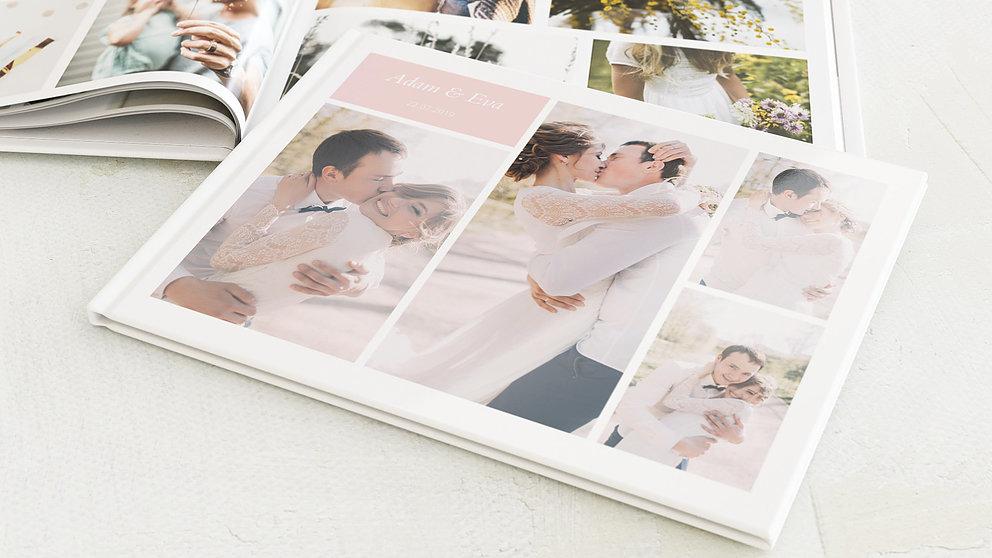Fotobuch Hochzeit Hochzeitscollage Detail