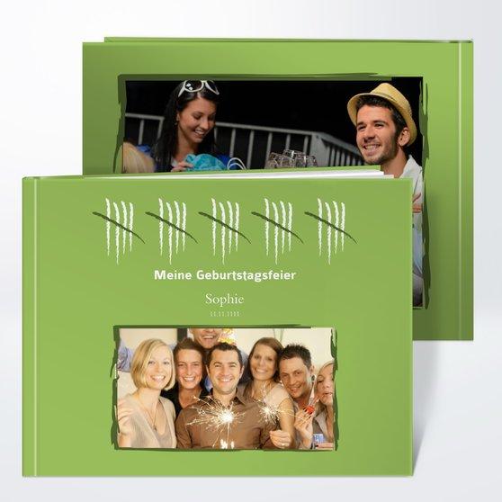 Fotobuch Geburtstag Strichliste 50 Detail