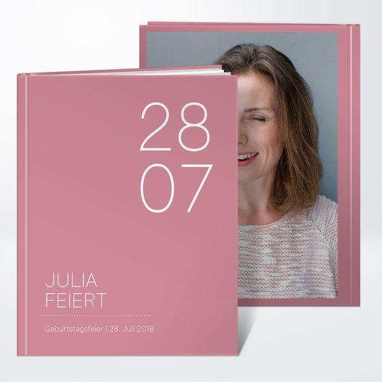 Fotobuch Geburtstag Runde Nummer 40 Detail