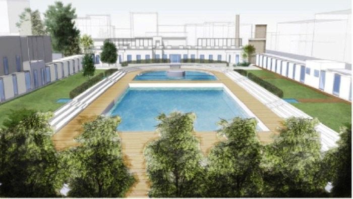 Centro balneare Caimi di Milano partiti i lavori di
