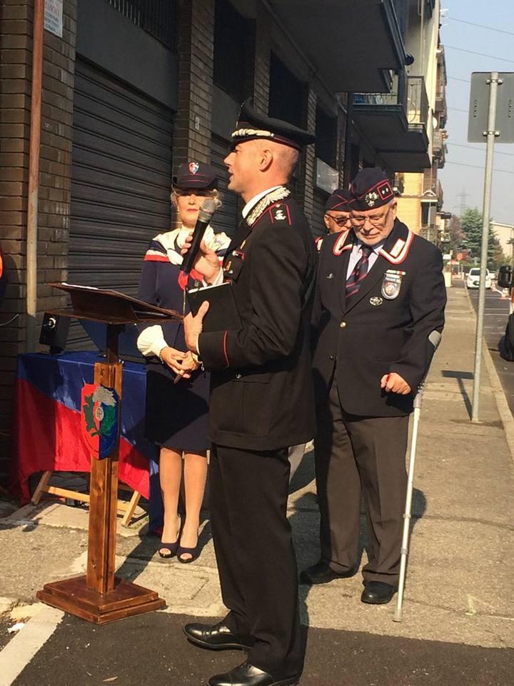 Mediglia lAmministrazione comunale ha commemorato la morte del Maresciallo Maggiore dei