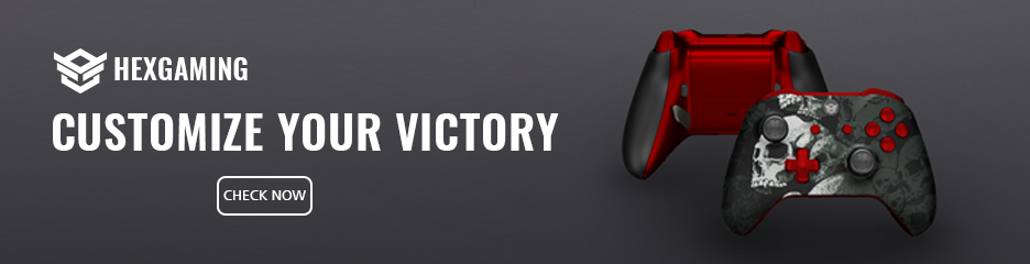 Customize Your Victory with controller from HexGaming