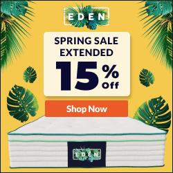 Presidents Day Sale - $200 OFF the Eden Mattress