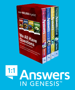 The New Answers Book Boxed Set