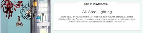 All-Area Lighting Sale