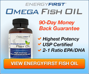 The Unrivaled EnergyFirst Omega-3 Fish Oil!