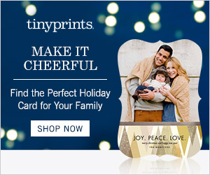 Tiny Prints Holiday Card Collection