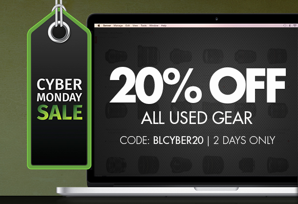 20% Off Used Gear