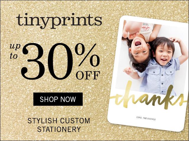 Tiny Prints - Foil & Glitter