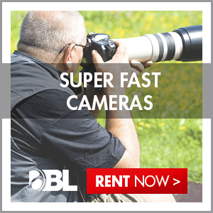 Rent Super Fast Cameras