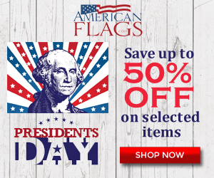 Americanflags.com - Shop at Americanflags.com and we will donate a US Flag in your name to a needy veteran. Use coupon code STAND to save an extra 10% OFF on your order.
