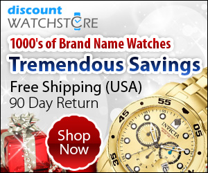 Shop DiscountWatchStore.com for tremendous savings on the perfect holiday gift