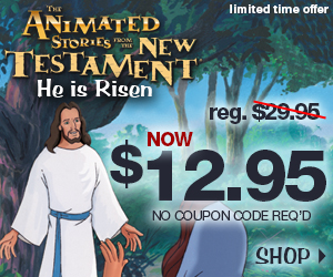 He is Risen on sale at NestEntertainment.com