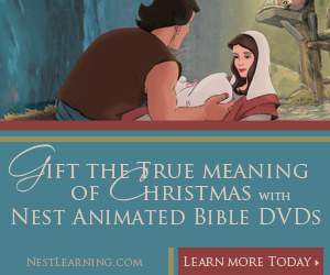 Nest Animated Bible DVDs at NestLearning.com