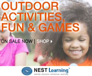Enjoy Spring + Summer with Outdoor Activities, Fun and Games!