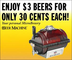 Enjoy great home brewed beer.