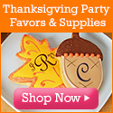 Thanksgiving gifts and favors