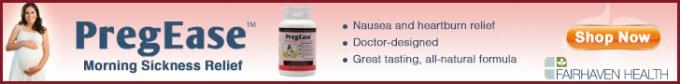 PreGease Morning Sickness & Heartburn Relief
