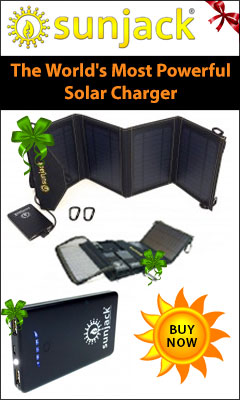 SunJack - World's Most powerful solar charger