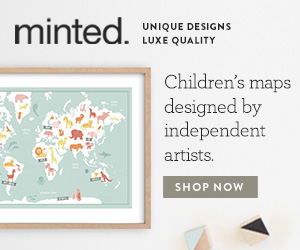 Children's Maps from Minted
