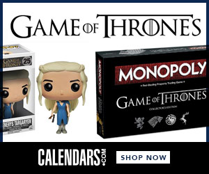 Shop Game of Thrones at Calendars.com Now!