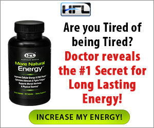 Boost your Energy! Click here for Exclusive More Natural Energy Offers.