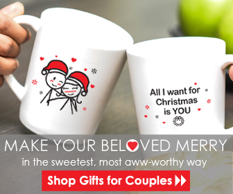 BOLDLOFT Couple Gifts for Christmas