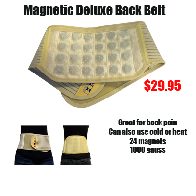 Magnetic Back Support