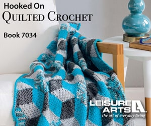 Hooked On Quilted Crochet - 6 Colorful Patterns for Crochet Lovers