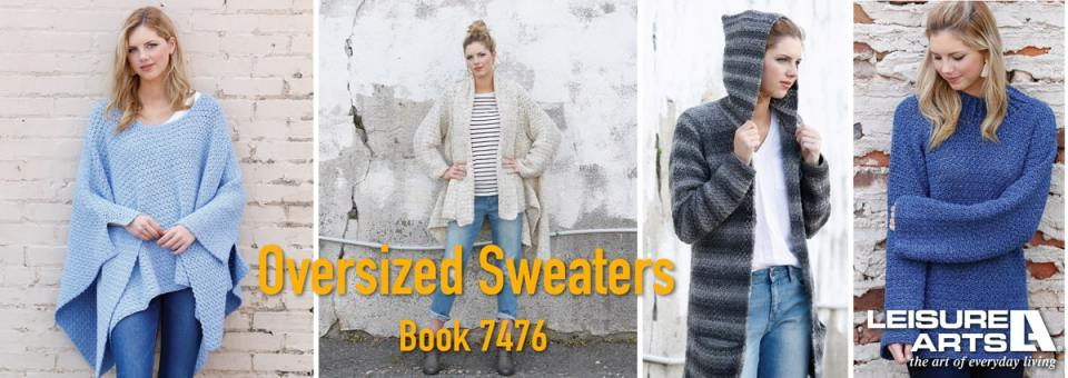 Oversized Sweaters - 6 Comfy Styles for Just Hanging Out