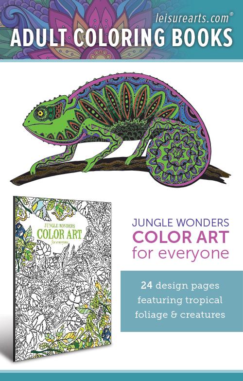 Jungle Wonders Color Art for Everyone