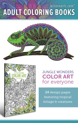 Jungle Wonders Color Art for Everyone