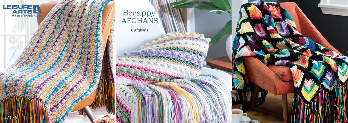 crochet afghans from scraps