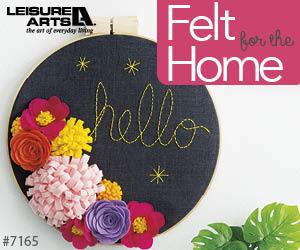 crafting with felt