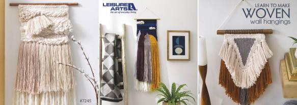 Learn To Make Woven Wall Hangings - 6 Easy Projects for First Time Weavers