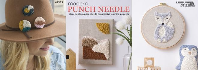 Modern Punch Needle - step-by-step guide plus 14 progressive learning projects