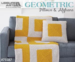 Geometric Pillows & Afghans