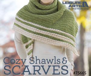cozy scarves & cowls by Christine Naugle