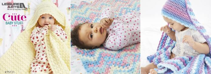 Cute Baby Stuff - 10 Colorful Crochet Projects