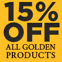 Save 15% on All Golden Lighting Products with Coupon GOLDEN15
