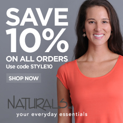 Save 10% At Naturals Inc, Code STYLE10