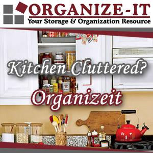 Organize It Kitchen Organization