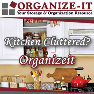 Organize It Kitchen Organization