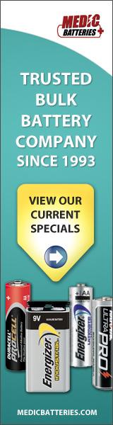Medic Batteries - Current Battery Specials
