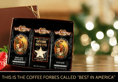 Gifts of Aloha from Koa Coffee