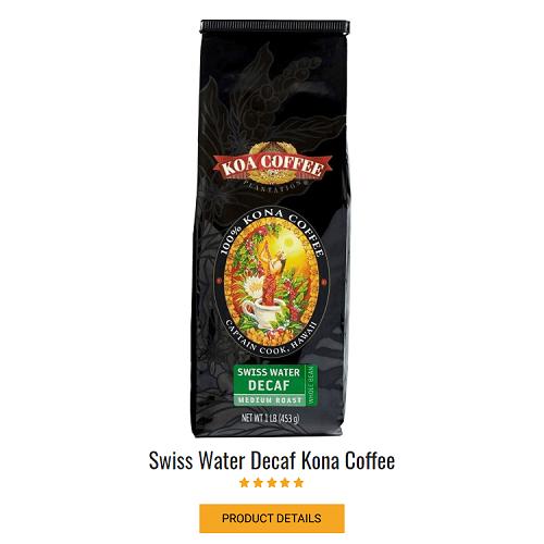 Decaf Kona Coffee