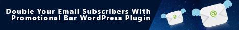 Lead Generation WordPress notification bar plugin