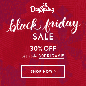 Black Friday Sale - 30% off site-wide with code 30FRIDAY15