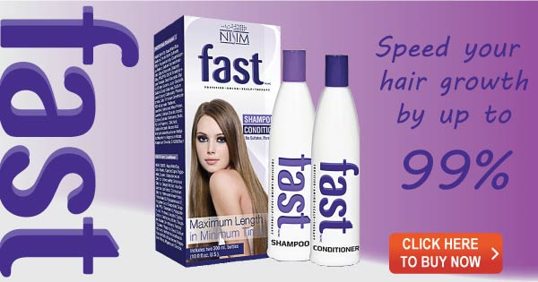 Grow your hair 99% faster