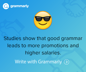 Adulting includes finding a new career. If you want to start your new career through writing, Grammarly would be one of the best tools to help you.